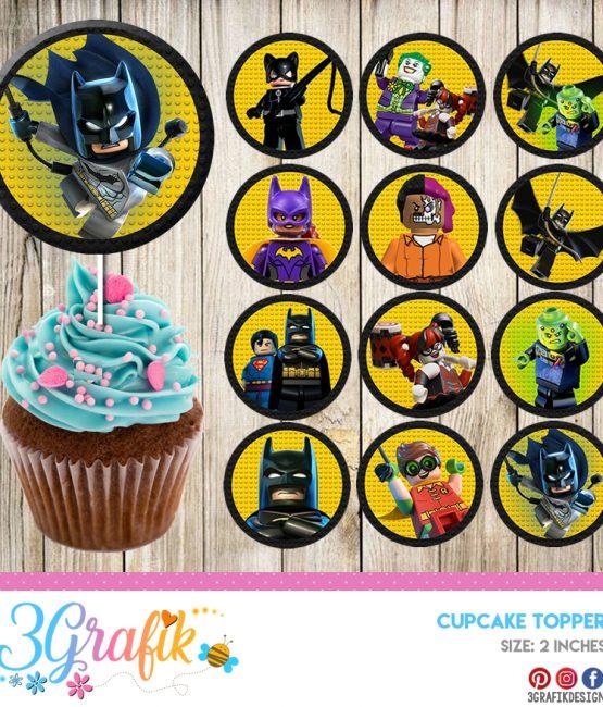 graphic regarding Batman Cupcake Toppers Printable identify Surprise Park Archives - 3Grafik Printable merchandise for
